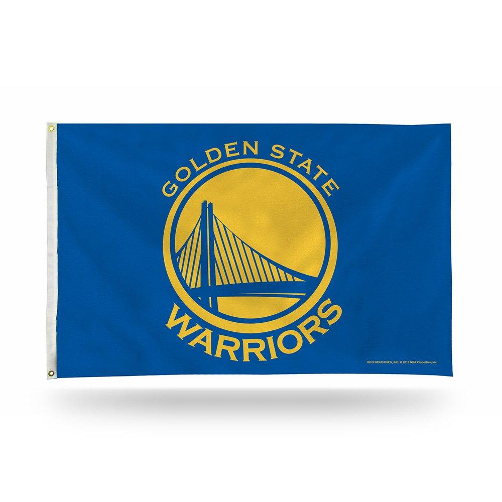 NBA Golden St Warriors Banner Flag,Blue
