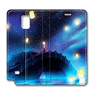 Brian114 Samsung Galaxy Note 4 Case, Note 4 Case - Leather Folio Flip Case Cover for Samsung Note 4 Gift Of Light Customized Stand Leather Cases for Samsung Galaxy Note 4