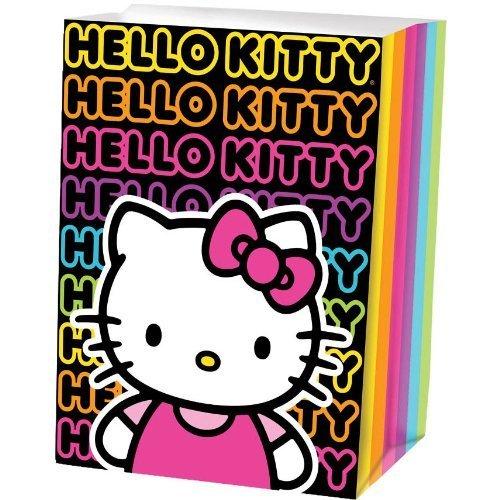 Hello Kitty 'Neon Tween' Paper Treat Bags (8ct) -