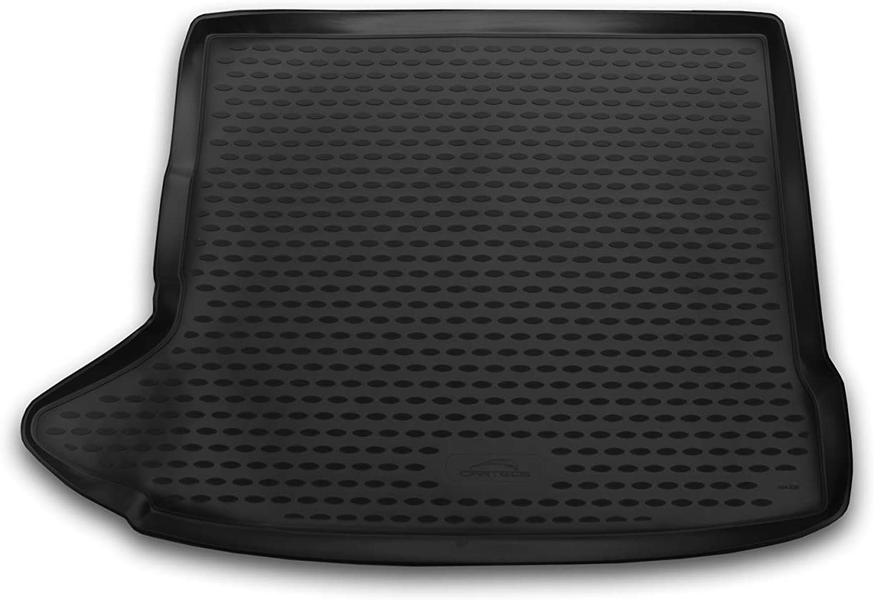 Black Element EXP.CARAUD00002 Tailored Custom Fit Rubber Boot Liner Protector Mat-Audi Q3 SUV 2011