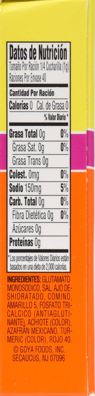 Goya Foods Sazon Azafran Seasoning, 1.41 Ounce by Goya (Image #3)