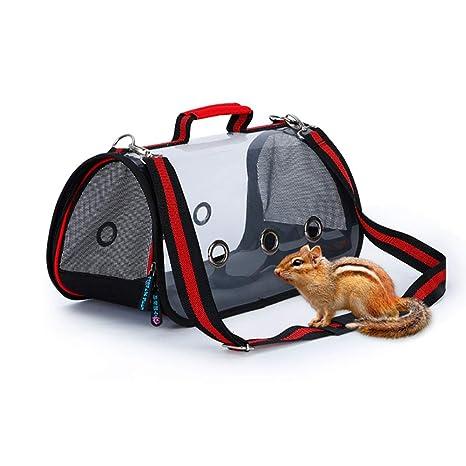 DJLOOKK Bolso De Hombro para Perros Cat Pet out Bag Mochila Portátil Modelos Transparentes Totalizador,