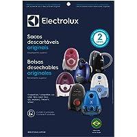 Kit com 3 Sacos Descartáveis Sbeon para Aspiradores de Pó, Electrolux, Branco