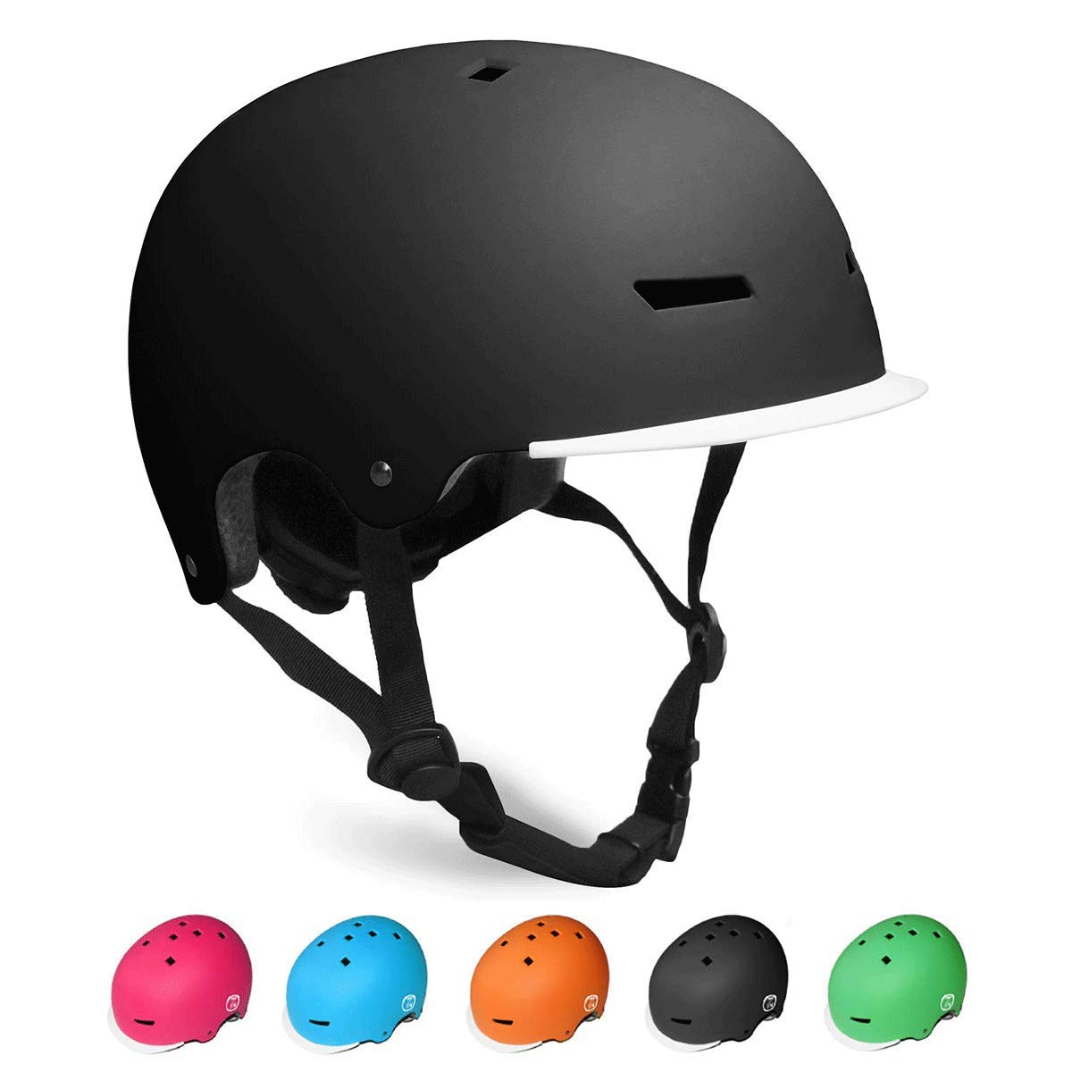 Adjustable and Multi-Sport 3 Sizes OUWOER Kids Bike Helmet from Toddler to Youth CPSC Certified