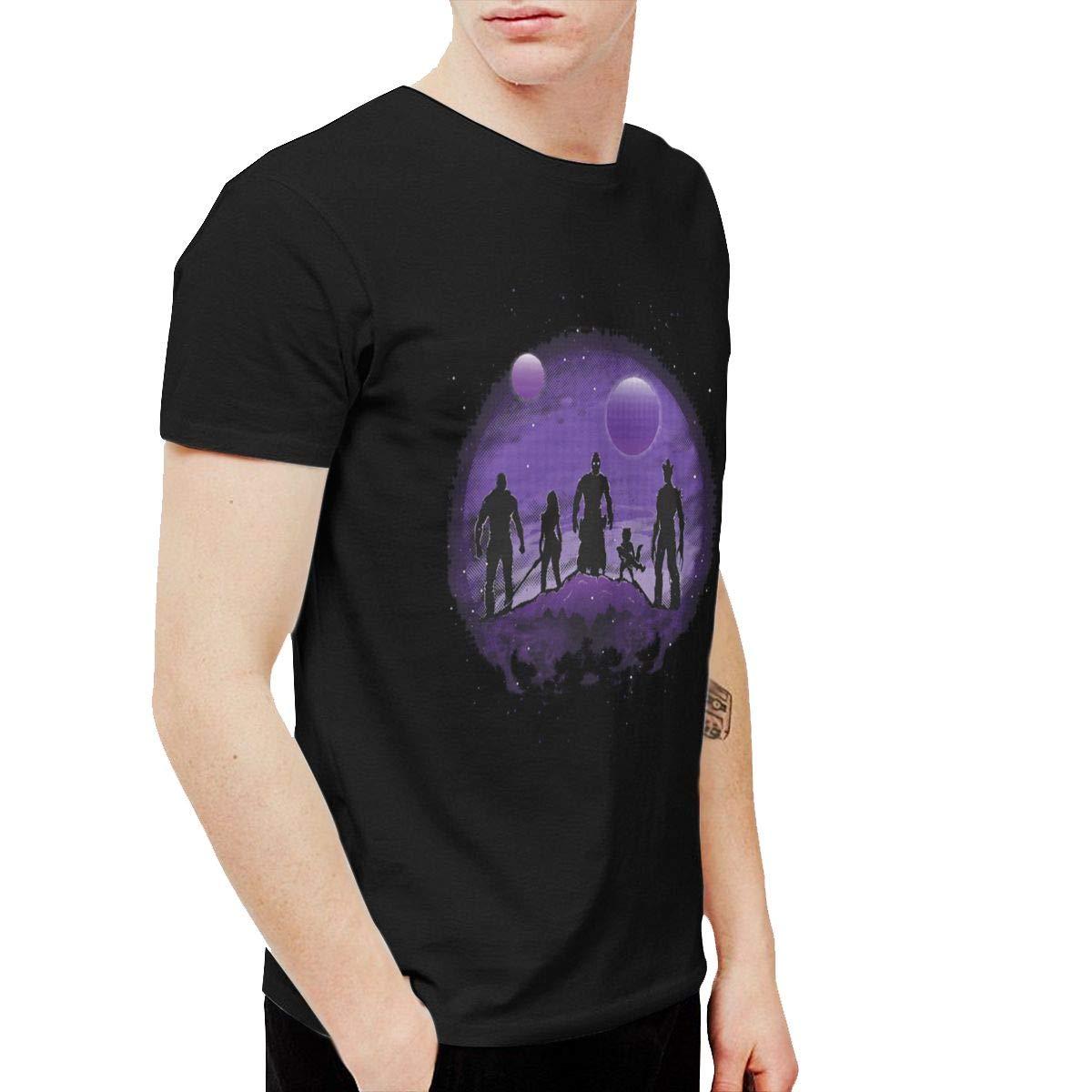 Twocjlrq Guardians Leisure Black Shirts