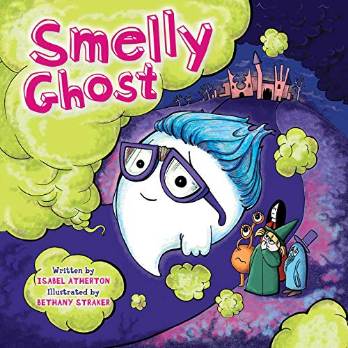 Halloween Food Banana Ghost (Smelly Ghost)