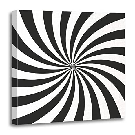 amazon emvency canvas prints square 20x20 inches swirl swirling Cedar Home Designs emvency canvas prints square 20x20 inches swirl swirling radial pattern vortex and spiral rays psychadelic abstract