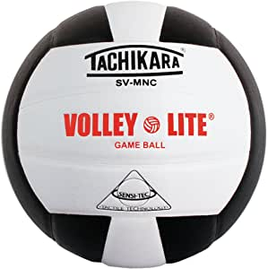 Tachikara SVMNC Volley Lite volleyball (Black/White)
