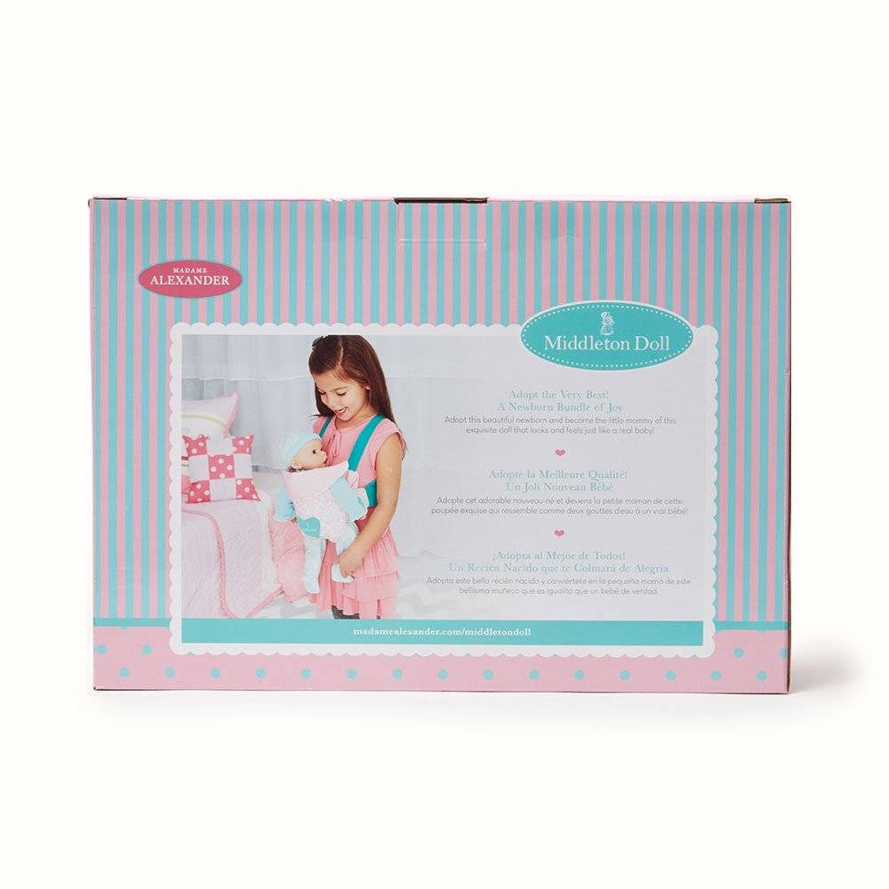 Amazon.com: Madame Alexander Middleton Doll Newborn Baby Lavender ...