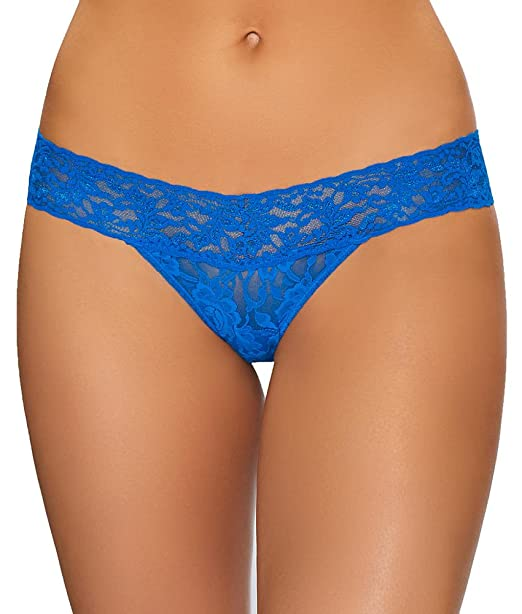 17c069697 Image Unavailable. Image not available for. Color  Hanky Panky Signature  Lace Petite Low Rise Thong ...