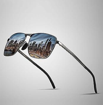 William 337 Gafas de Sol clásicas del Marco Cuadrado - Gafas ...