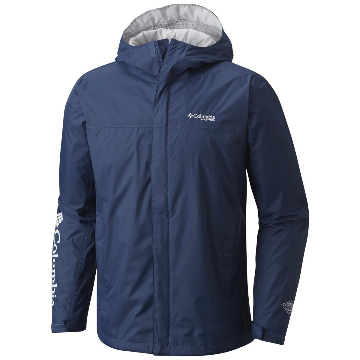 Columbia Men's PFG Storm Jacket Small Night Tide/White