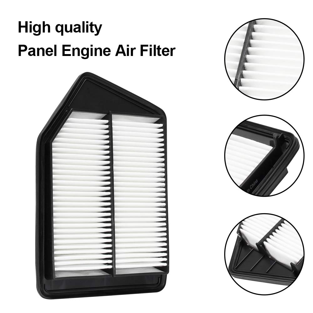 WM476 ACURA TLX L4 2013-2017 17220-5A2-A00 2015-2017 WISAMIC Engine Air Filter for Honda: Accord L4 Gas Replace CA11476