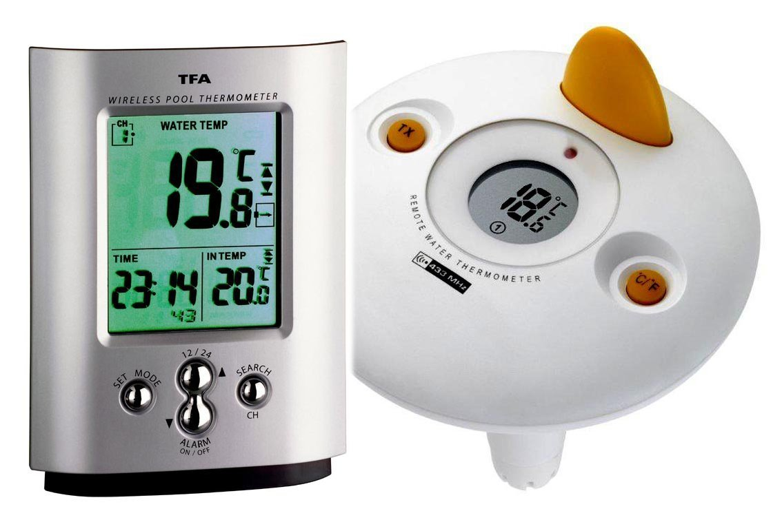 Funk-Pool thermometer Miami weather store TFA 30.3033.99 Swimming pool thermometer TFA-Dostmann