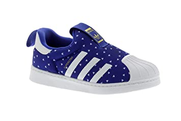new york 2ed77 6c7b3 Adidas Sneaker SUPERSTAR 360 Toddler blue white Size 7K UK - 24 EU