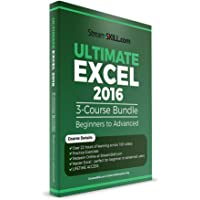 Ultimate Excel 2016 by Stream Skill - Learn Excel Beginner to Advanced Excel Video Tutorials (Online Key)