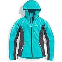 EMS Women's Techwick Active Hybrid Wind Jacket (Latigo Bay /Wood Violet)