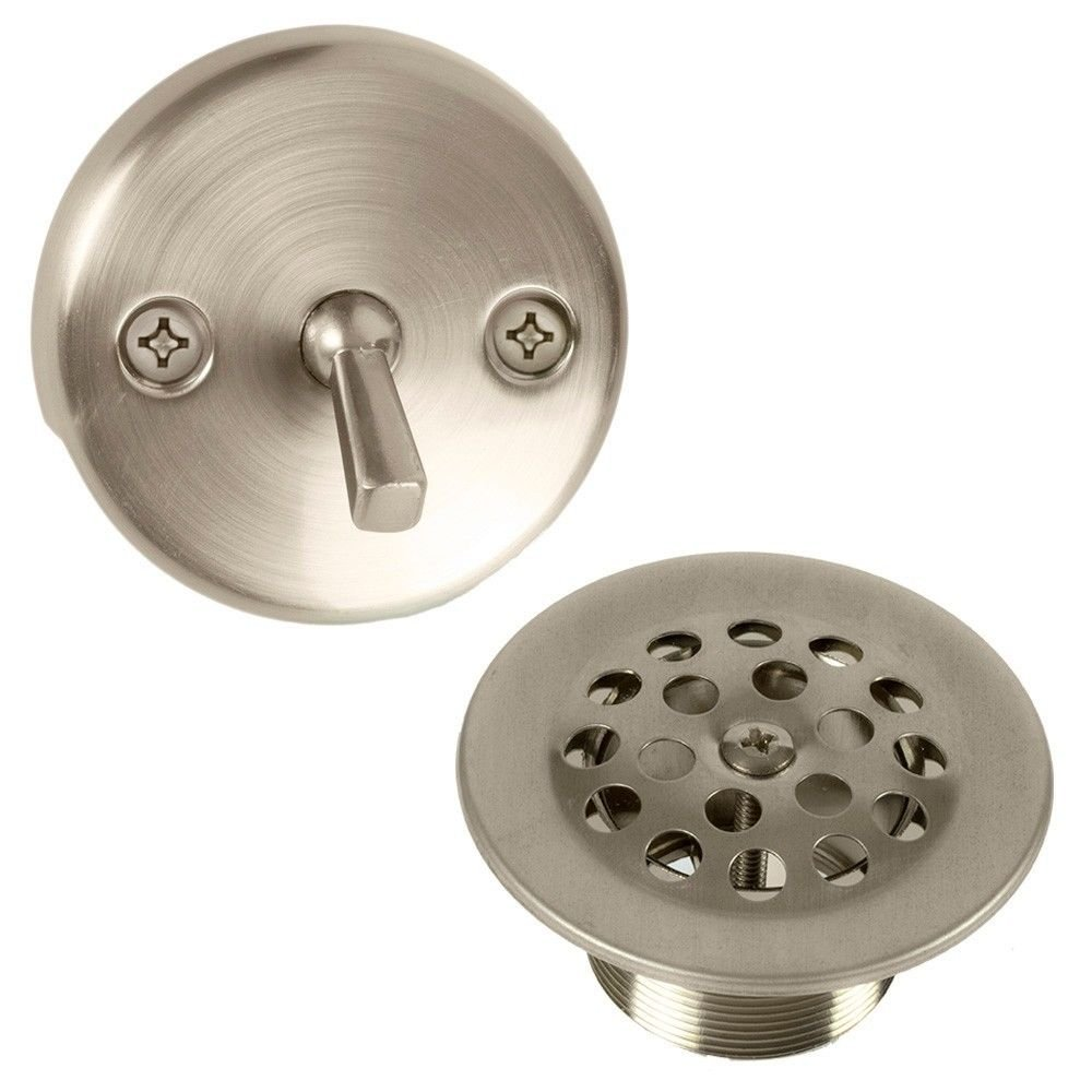 Amazon.com: Bennington Trip Lever Bathtub Tub Drain Overflow ...