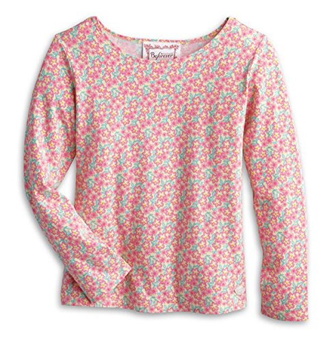 American Girl Kit's Cheery Blossom Top Size Large 12-14 (Inspired by Kit's Chicken Keeping Outfit)