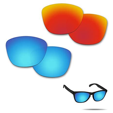d10909321c47e Image Unavailable. Image not available for. Color  Fiskr Anti-saltwater  Polarized Replacement Lenses for Oakley Frogskins Sunglasses ...