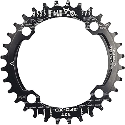 SNAIL 104bcd 32-42T Mountain Bike Chainring Narrow Wide MTB Cycling Chainwheel