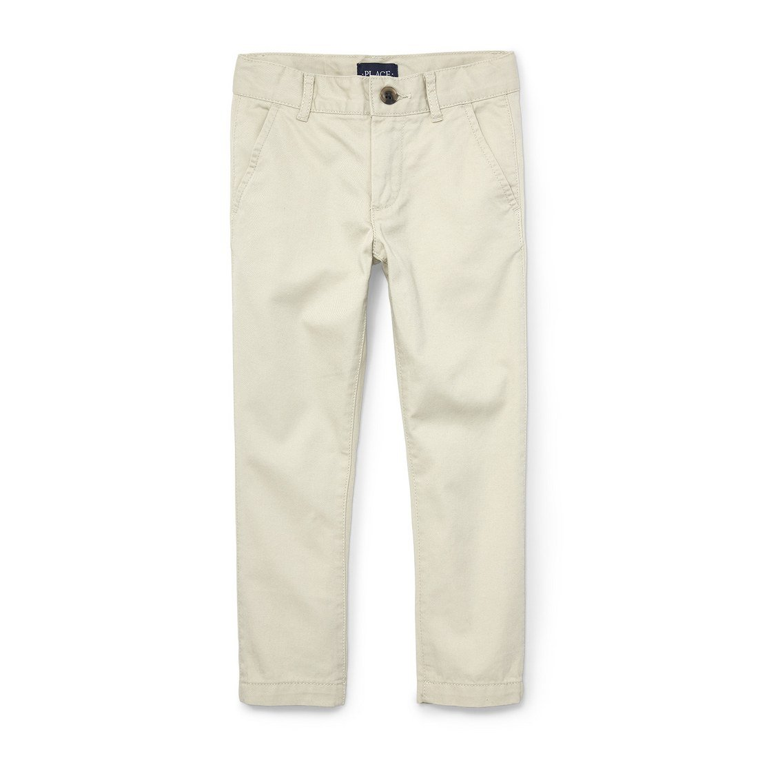 The Children's Place Big Boys' Skinny Uniform Chino Pants, Berber 4133, 6