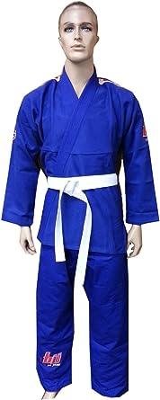 Jiu Jitsu Gi for Kids Youth BJJ Uniform WHITE Brazilian Jiu Jitsu with Flags