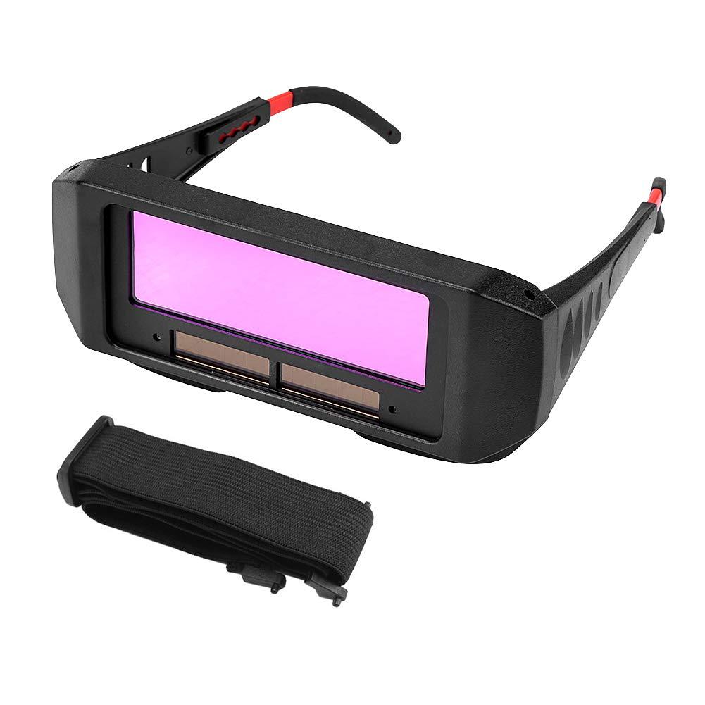 Gafas de Soldar de Oscurecimiento Automático, Lunettes de Soudure, Gafas Seguridad Soldadura, Gafas Protectoras de Soldadura pour Protéger vos Yeux des étincellestion de Soudeur