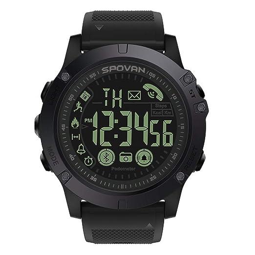 Reloj Inteligente Hombre Deporte, Harpily Negocios para Hombres de Lujoso Smartwatch Reforzado Flagship 33 Meses Tiempo Espera 24 Horas Monitoreo En Todo ...