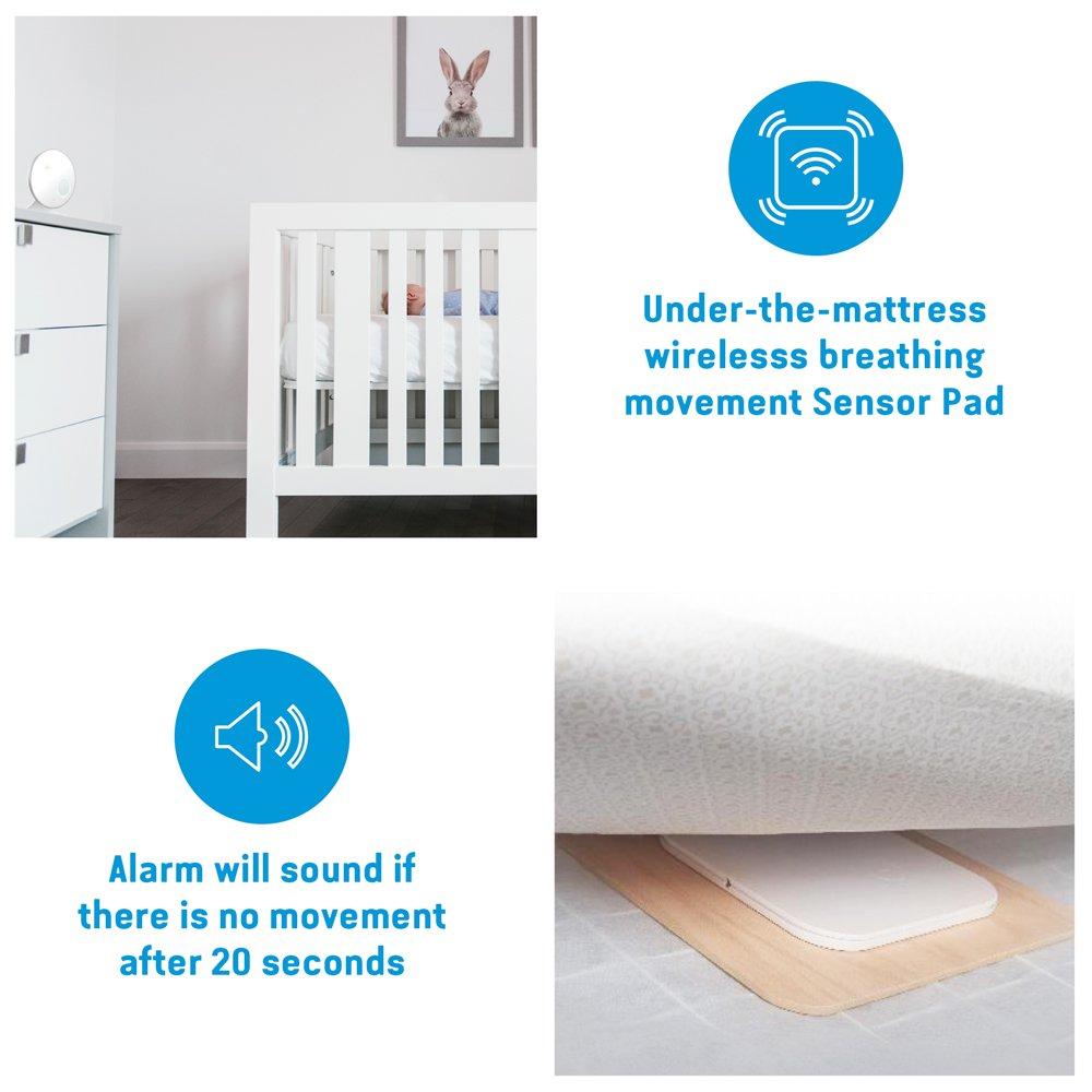 Amazon.com: Angelcare Movimiento Alarma con sensor ...