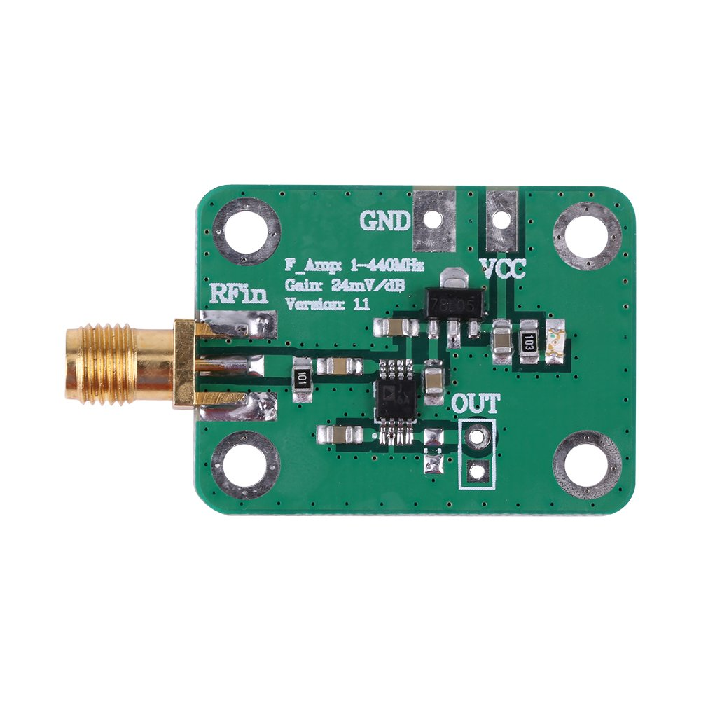 AD8310 0.1-440MHz High-speed High Frequency RF Logarithmic Detector RF Power Meter RSSI Measurement Module Board Walfront RLSB5332