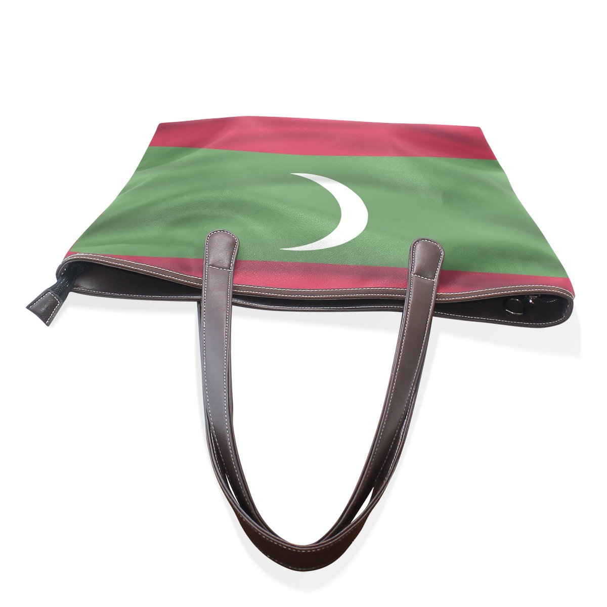 Maldives Flag Womens Fashion Large Shoulder Bag Handbag Tote Purse for Lady