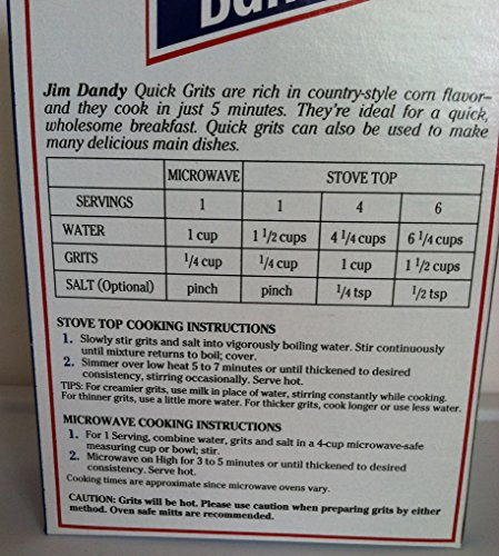 quaker instant grits instructions