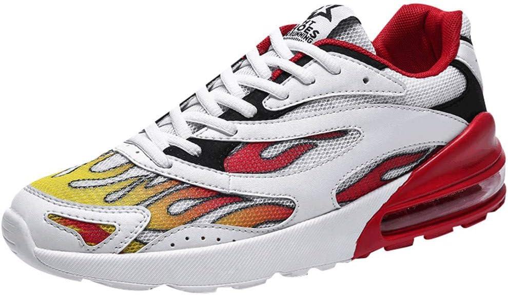 EUZeo - Zapatillas de running para hombre y mujer, transpirables, antideslizantes, para correr, deporte, gimnasio, gimnasia: Amazon.es: Instrumentos musicales