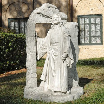 Design Toscano The Risen Jesus Christ (Lawn Ornament Religious Statue)