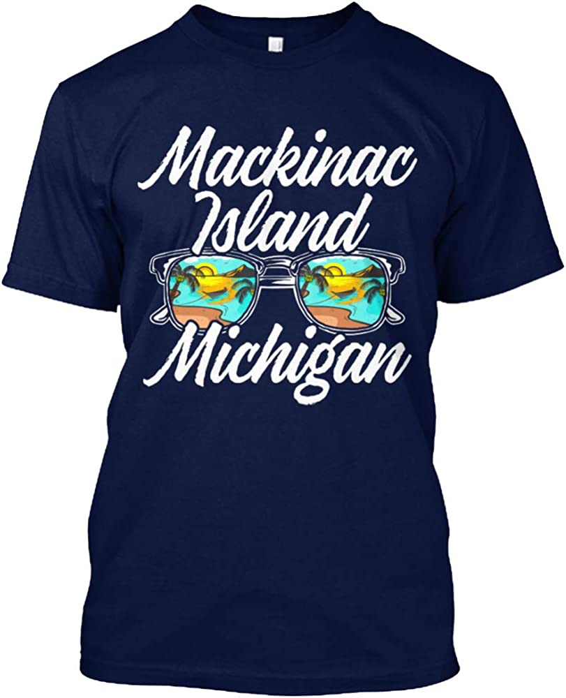 B07XYB26ZZ Mackinac Island Michigan T-Shirt - Hanes Tagless Tee 61VNAPIEPhL