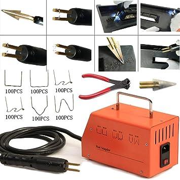 Plastic Bumper Repair Kit >> Amazon Com 110v Car Plastic Bumper Repair Kit Hot Stapler