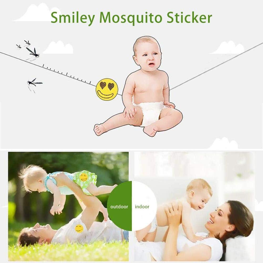 Happt Patchs Anti Moustiques Enfants Autocollant Anti-Insectes pour Enfants Adultes