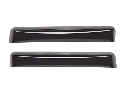 WeatherTech Custom Fit Rear Side Window Deflectors for Toyota Sienna Light Smoke