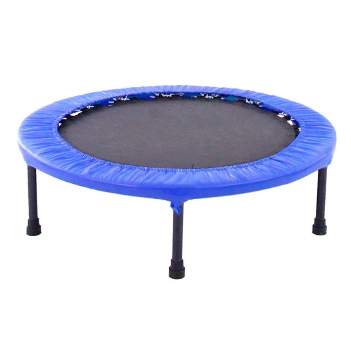 Trampolin verstellbar Mini Elastisches Bett 152 cm (Blau)
