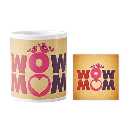 Buy Yaya Cafe Birthday Gifts For Mom Mother Wow Mom Coffee Mug For
