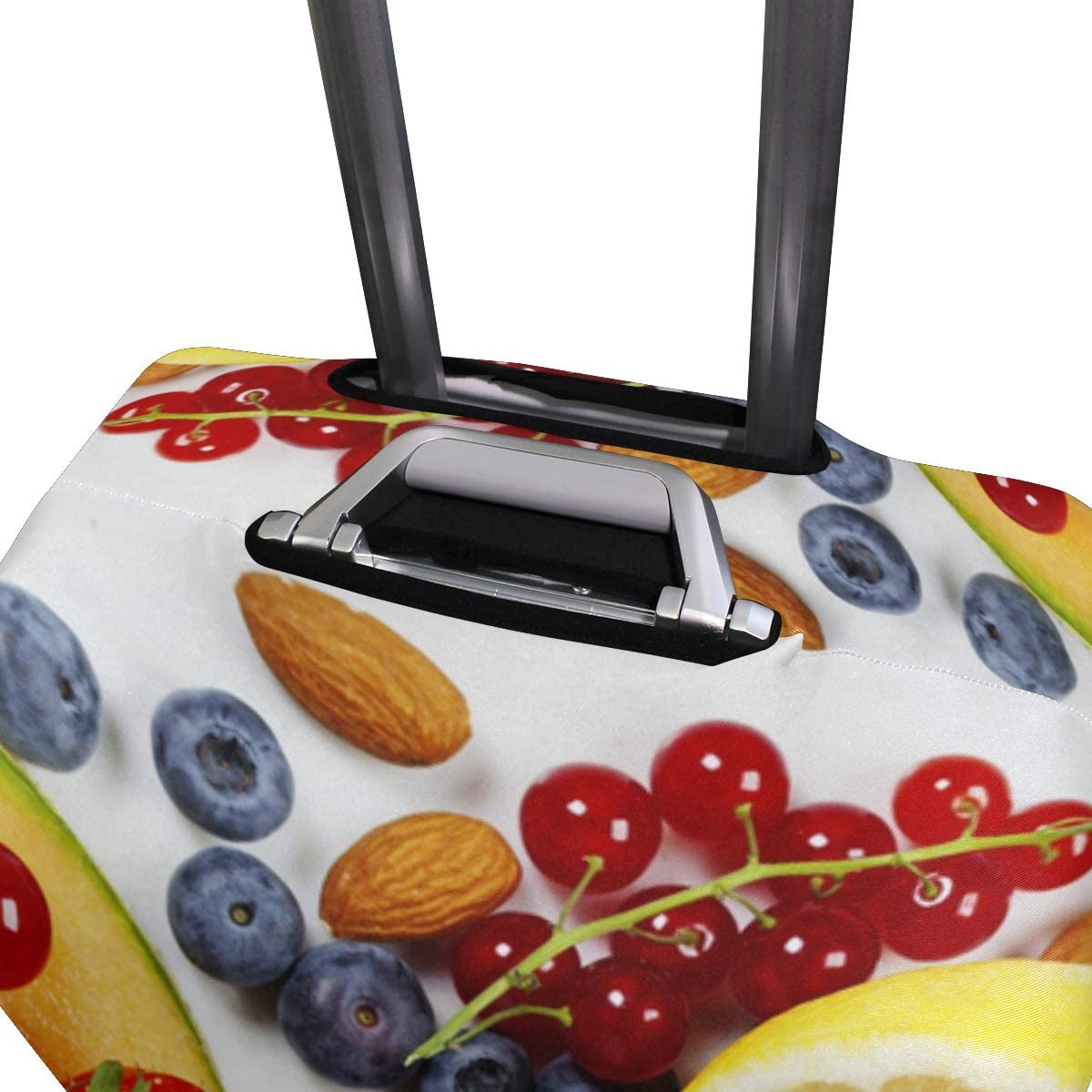 Luggage Cover Creative Elastic Fruit Blueberries Cherry Citrus Travel Suitcase Protector Fits 26-28 Inch