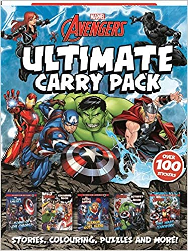 Marvel Avengers: Ultimate Carry Pack Wallet of Wonder Marvel ...