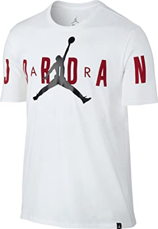 Nike Stretched tee Camiseta de Manga Corta Línea Michael Jordan de Baloncesto, Hombre, Blanco (White/Black), 2XL: Amazon.es: Deportes y aire libre
