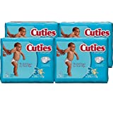 Amazon Price History for:Cuties Baby Diapers, Size 3, 36-Count, Pack of 4