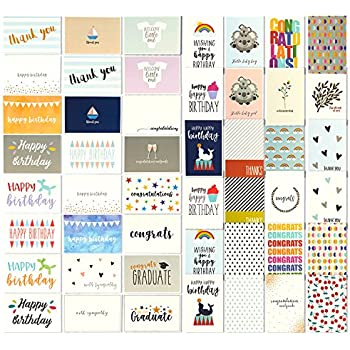 48 All Occasion Greeting Cards
