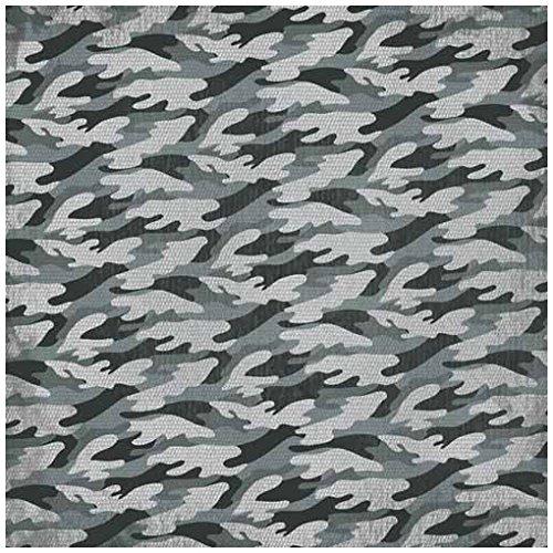 (KAREN FOSTER Design Scrapbooking Paper, 25 Sheets, Arctic Camo, 12 x 12)