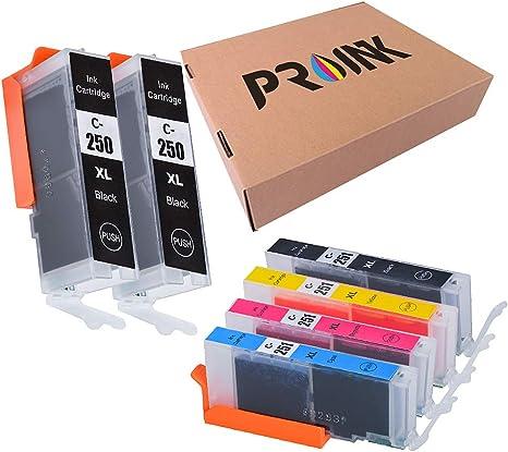 Amazon.com: Cartucho de tinta para impresoras Canon PGI ...