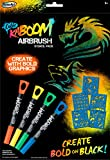 RoseArt Color KaBoom Airbrush Stencil Pack Boy