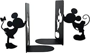 PandS Mickey and Minnie Bookends - Mouse Book Ends for Your Home - Must Have for Book Lovers - Bookends for Heavy Books - Decorative and Creative Bookends